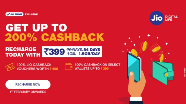 Get informed about latest JIO recharge plans available!!!