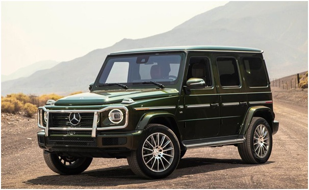 Mercedes-Benz G-Class: An iconic SUV that can go anywhere!